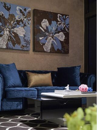 新古典风格客厅细节效果图片