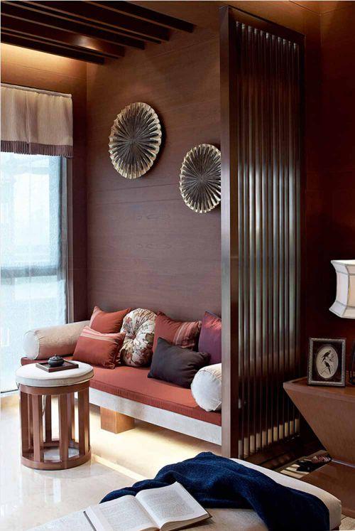 优雅新古典客厅装潢效果欣赏