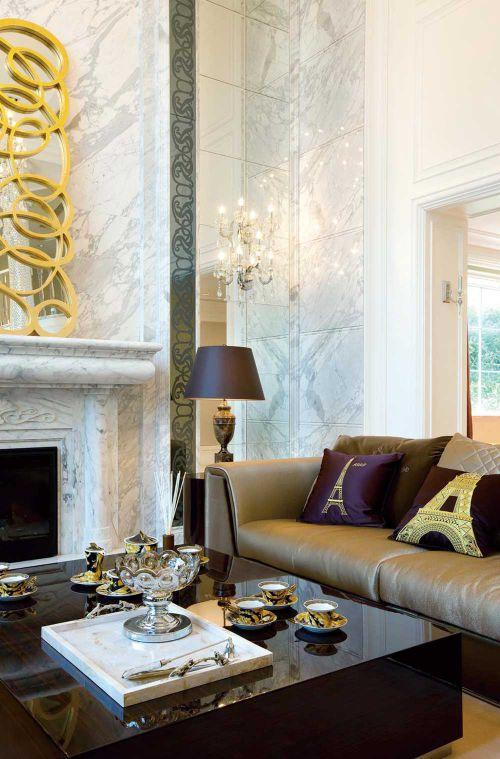 新古典简洁时尚客厅装修案例