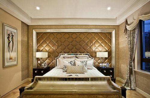 低奢时尚简欧风格卧室装潢设计赏析