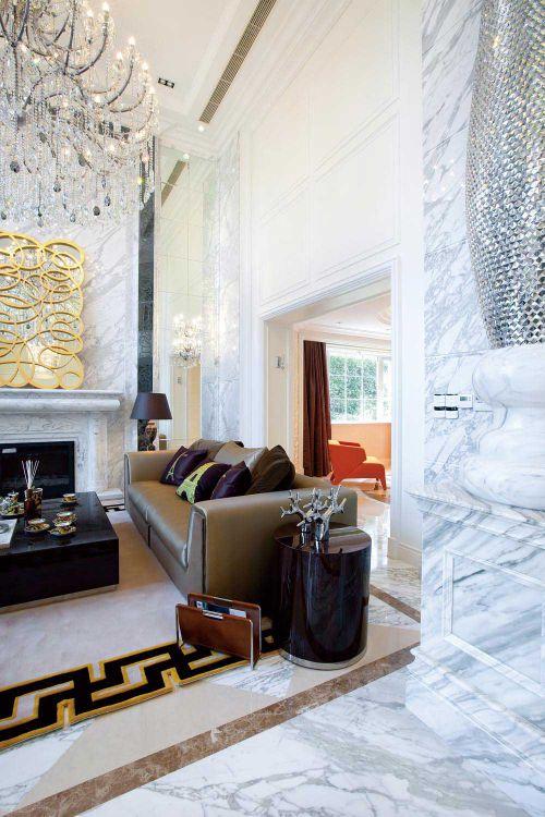 2016新古典华丽客厅装修案例