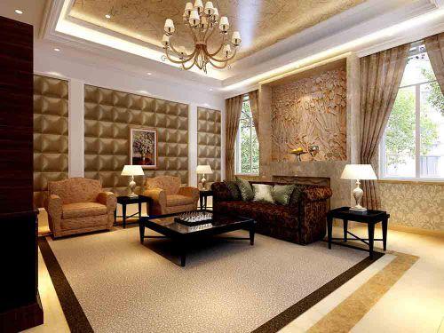 简欧客厅装修设计欣赏