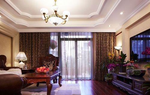 温馨简欧风格客厅装潢案例