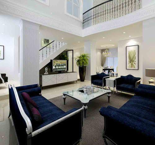 2015简欧客厅装修案例