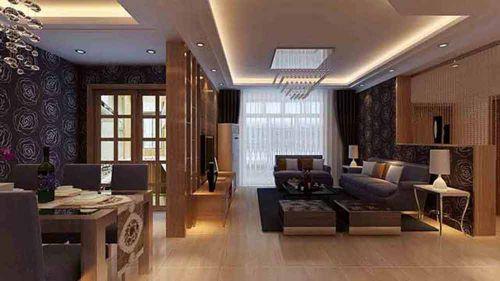简欧风格温馨客厅设计