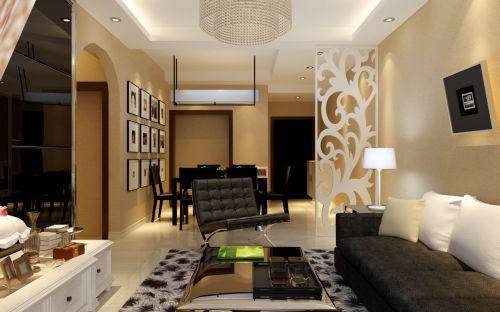 简欧风格客厅装修设计2016
