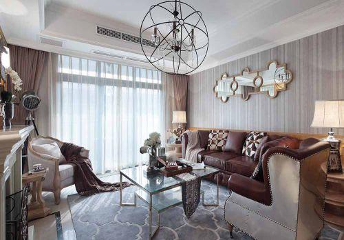 2016时尚创意简欧风格客厅装修效果图
