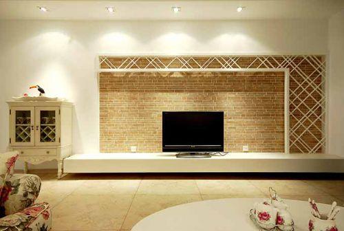 明亮大方的简欧风格客厅装潢设计