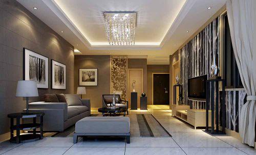简欧特色客厅装饰设计案例