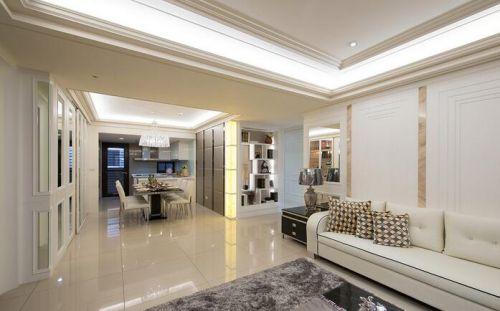简欧风格四居室客厅装修实例精选