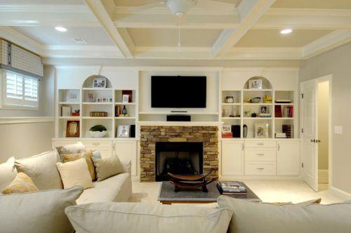 唯美温馨简欧风格客厅装修效果