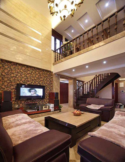 古典简欧风格客厅设计效果图片