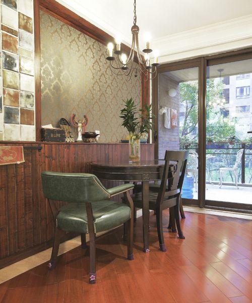 简欧风格优雅原木色客厅装饰美图