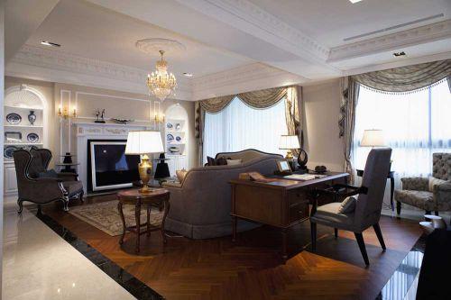精致简欧风格客厅布置