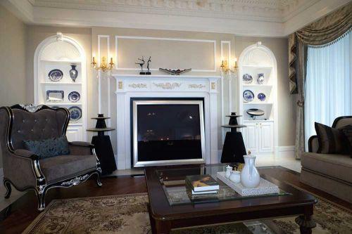 2016温馨简欧风格客厅装修设计