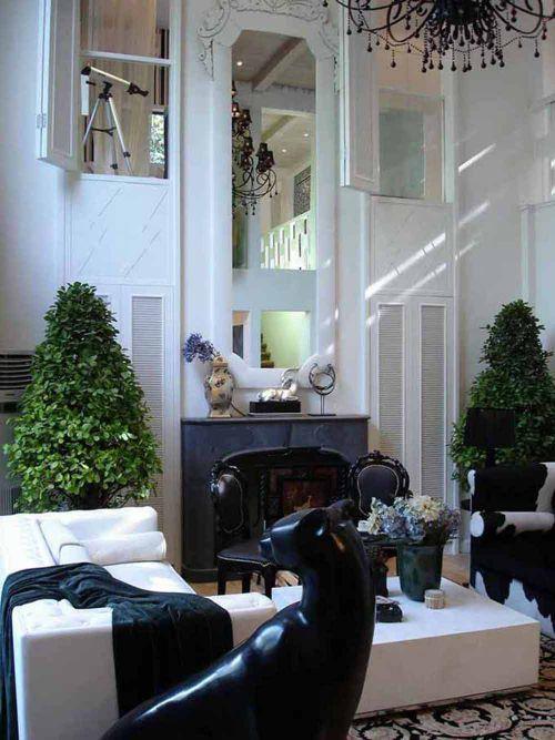 新古典主义气质客厅装潢