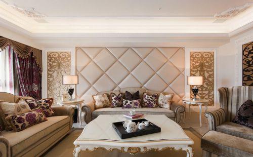 大方新古典客厅装修设计