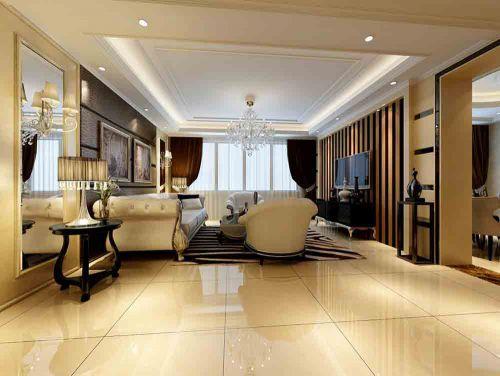 时尚简欧风格客厅设计