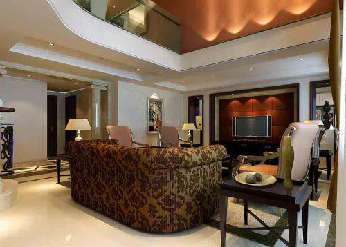 新古典主义客厅装修设计图