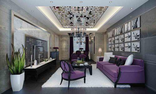 新古典精致客厅设计图欣赏