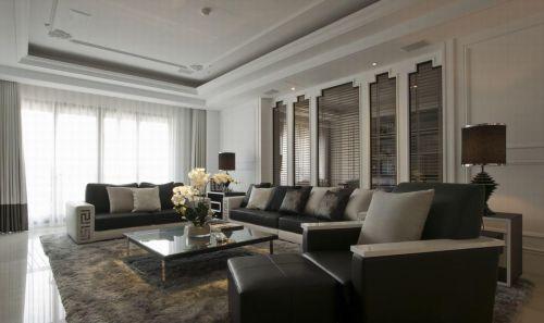 新古典主义客厅装修案例欣赏