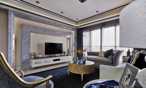 新古典客厅装修效果展示