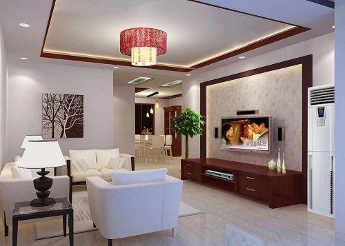 别致时尚大气新古典风格客厅装潢设计