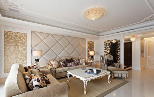 新古典客厅装修效果图