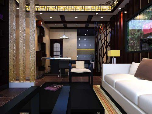 2016大气华丽新古典风格客厅装潢