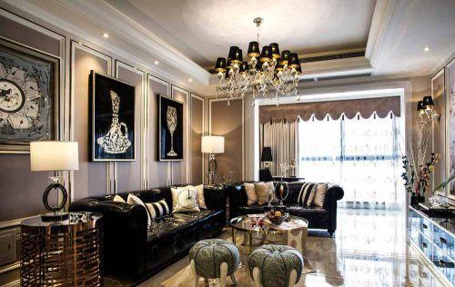 2016高贵奢华新古典主义客厅装饰欣赏