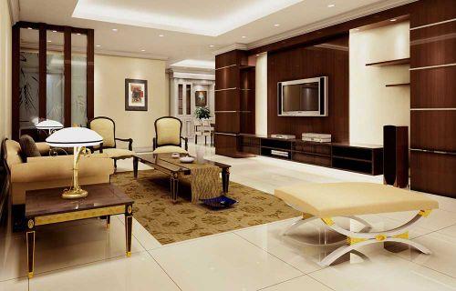 新古典雅致客厅装潢设计