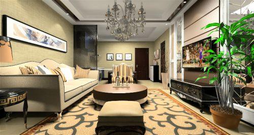 新古典风格客厅装潢设计