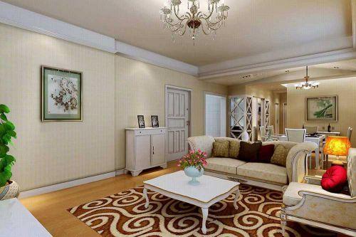 2016简欧时尚温馨客厅布置