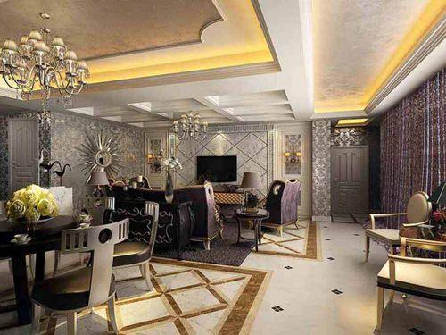 新古典风格客厅装饰设计精品案例