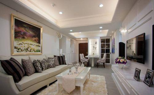 2016新古典风格客厅装修案例