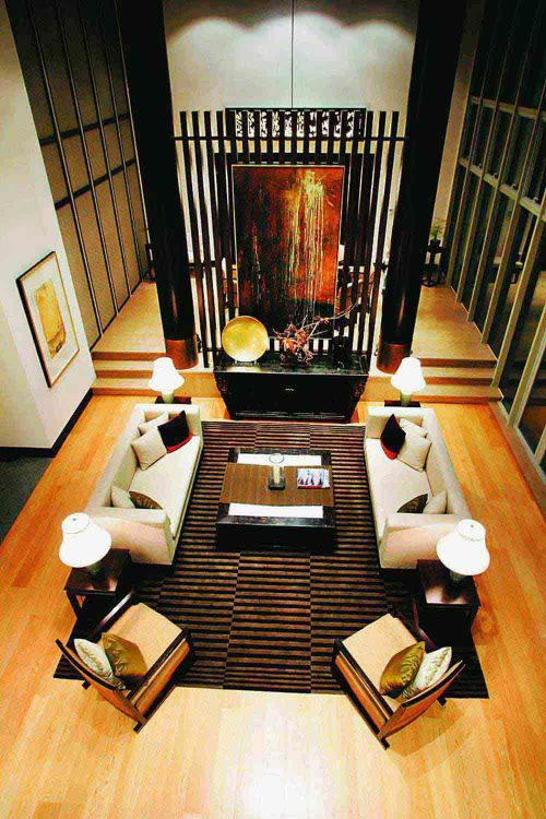 典雅韵味中式新古典风客厅装修美图