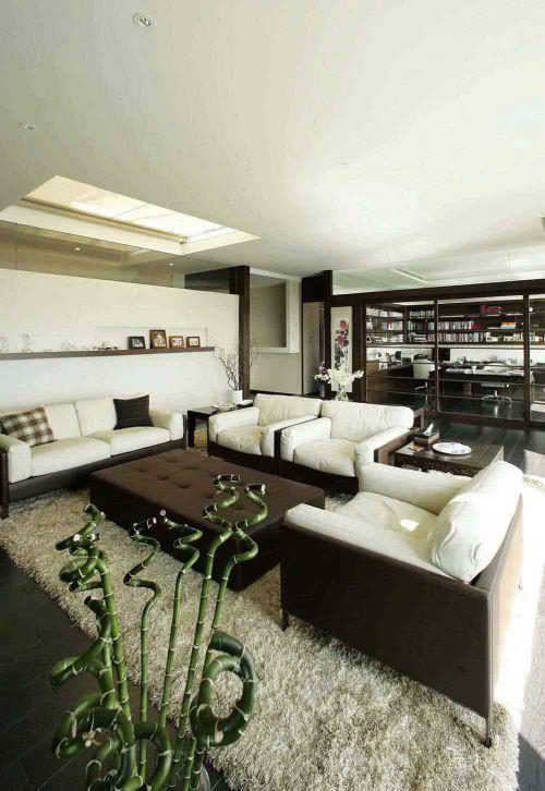 经典中式新古典客厅设计美图