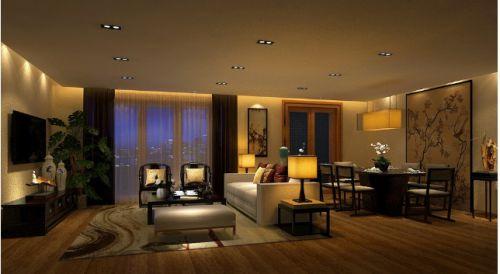 新古典雅致风格客厅图片赏析