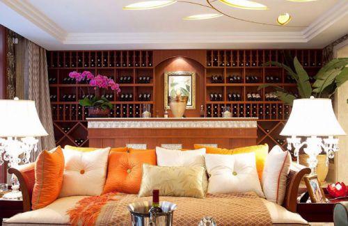 东南亚风格客厅沙发美图