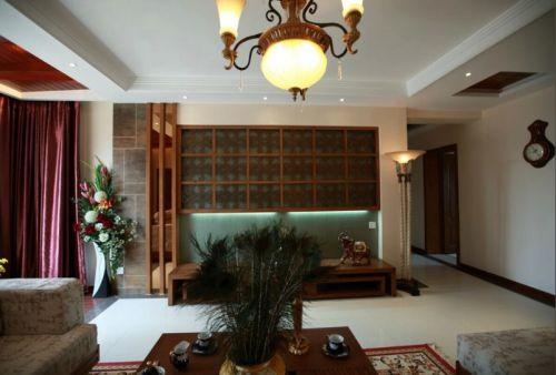 东南亚风格客厅图片