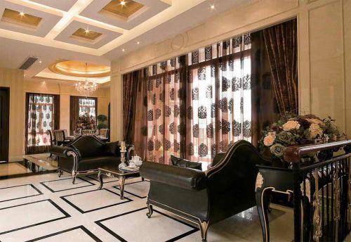 新古典时尚客厅装修布置欣赏