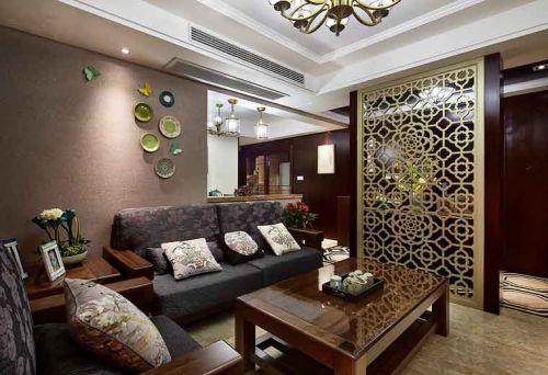 新古典风格典雅灰色客厅装修赏析