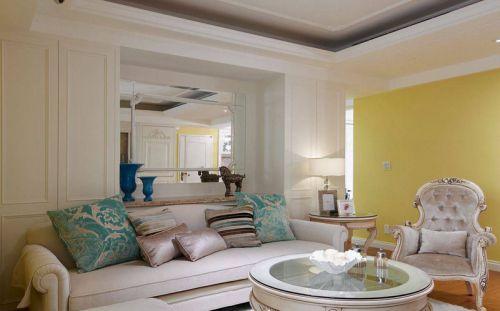 精美新古典客厅装修设计欣赏