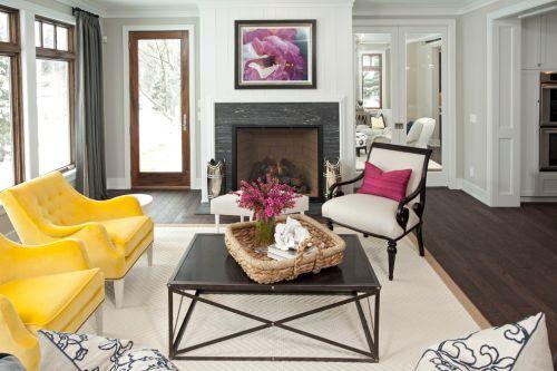 米色东南亚风格质感客厅装修设计