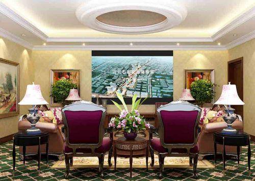 新古典风格多功能客厅装修效果欣赏