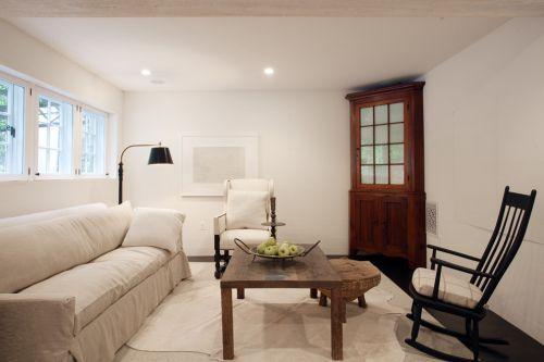 东南亚风格素雅米色客厅装潢设计