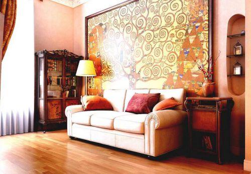 东南亚风格客厅装修设计图