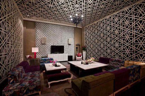 2016个性创意东南亚风格客厅布置