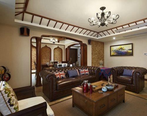 2016东南亚风格客厅设计装潢