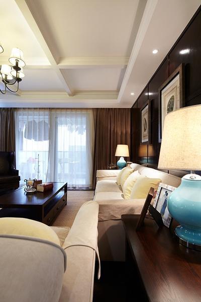 东南亚风格清新白色客厅装修赏析2016